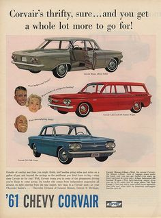 Corvair Ads 1960-1969 digital collection