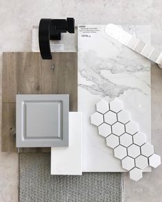 Beautiful master bathroom decor tips. Modern Farmhouse, Rustic Modern, Classic, light and airy master bathroom design a few ideas. Bathroom makeover some ideas and master bathroom renovation tips. Kitchen Design Small, Remodel, Home Remodeling, Design Palette, New Homes, Home Renovation, Tile Remodel, Bathroom Decor, Tile Bathroom
