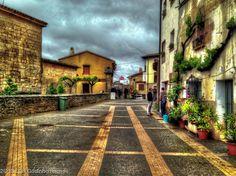 Spanish Village - Villamayor de Monjardin, Spain. One of many villages along the Camino de santiago.