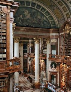 "Amazing Library, I want to read every book.  It's like ""Beauty and the Beast""."