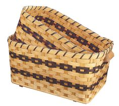 Amish Woven Laundry Baskets