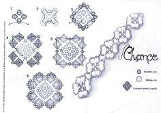 завтра была война васильев краткое содержание.  Схема браслета Салон Эксклюзивного Бисера beading patterns.