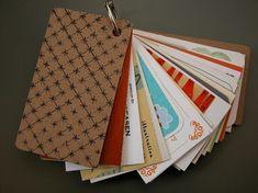 Business Card organizer kit