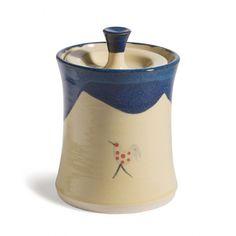 Honey & Blue Storage Jar €33.95 Jar Storage, Honey, Pottery, Tableware, Blue, Stuff To Buy, Ceramica, Dinnerware, Dishes