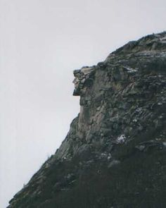 Beautiful and Strange Natural formations the old man of the mountain New Hampshire Franconia Notch, Lookout Mountain, Weird Facts, Strange Facts, Ancient Mysteries, Estes Park, New Hampshire, State Parks, Old Things
