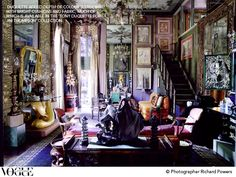 home of Tony Duquette, from Vogue Living