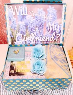 These romantic presents will show your girlfriend just how much you're actually deciding upon her this holiday season. Will You Be My Girlfriend, Crazy Girlfriend Meme, Surprise Your Girlfriend, Christmas Gifts For Girlfriend, Presents For Boyfriend, Birthday Gifts For Girlfriend, Girlfriend Gift, Romantic Candles, Romantic Gifts