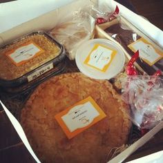 gift baskets of awesome food! another brilliant gift and idea! http://clementineonline.com/