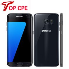 Refurbished Samsung Galaxy S7 Edge G935F & G935V Smartphone 5.5'' 4GB RAM 32GB ROM Single SIM NFC 12MP 1080P 4G LTE Mobile Phone