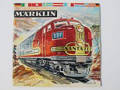 1961 62 Marklin Model Train Car Toy Accessories Catalog Prices English | eBay