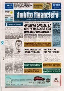 OpinionPublicaSantafesina(ops): diarios de argentina de hoy