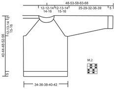 """Igor - Pulôver raglan DROPS com trança e ponto de arroz, em """"Merino Extra Fine"""". Dos 3 aos 12 anos. - Free pattern by DROPS Design"""