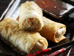 Fresh Rolls, Chili, Turkey, Meat, Ethnic Recipes, Foods, Food Food, Food Items, Chile