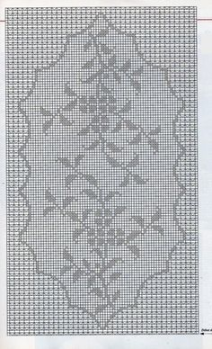 Crochet Tablecloth Pattern, Crochet Doilies, Hobbies And Crafts, Diy And Crafts, Crochet Designs, Crochet Patterns, Filet Crochet Charts, Table Toppers, Tatting