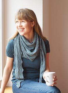 """Heaven and Space"" shawl knitting pattern by Martina Behm. Ravelry"