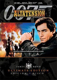 Alta tensión (1987) Gran Bretaña. Dir: John Gleen. Acción. Aventuras - DVD CINE 545