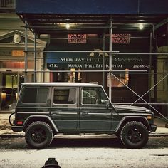G-Wagon in the city