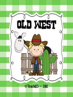 Travel back in time to the Old West.  These lessons are aligned with the 2nd Common Core Standards. $