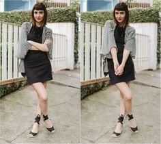 vestido preto kimono espadrille