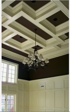 Coffered Ceilings | Living Quarters on a Dime