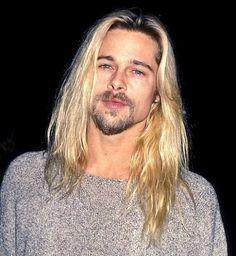 Brad Pitt...I liked his creepy grunge faze!!!!