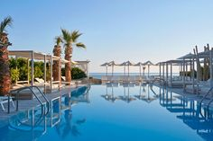Where blue is the only color!!! The Island Hotel, Kato Gouves, Crete, Greece.
