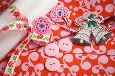 décoration fêtes de fin d'année, tissus, boutons, Collection Récréatys Noël 2012 | Mercerie Créative - Couture Facile I Paritys