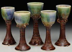 Saw some of Laurey-Faye Longs work in John britt's new glaze work ... lovin' it!