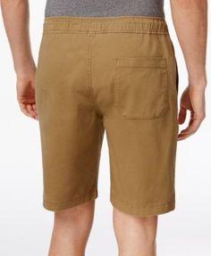 American Rag Men's Drawstring Jogger Shorts, Only At Macy's - Tan/Beige XL