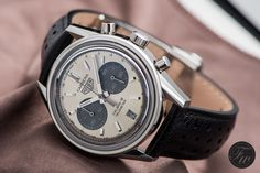 Fratellowatches goes hands-on with the vintage inspired TAG Heuer Carrera Telemeter Cal.18 chronograph.
