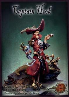 Hook, The Captain - Pirate (x1 fig)
