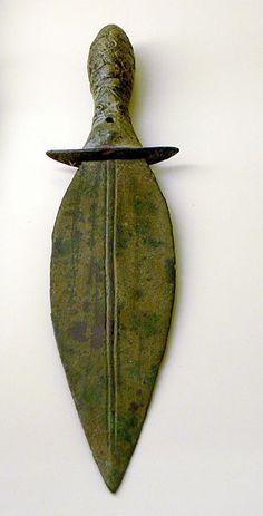 Museum of Ancient Near East ( Berlin ). Luristan bronze dagger ( 1st millenium BC ).