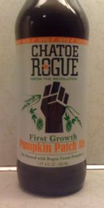 Rogue Farms Pumpkin Patch Ale is a Pumpkin Ale style beer brewed by Rogue Ales in Newport, OR. 86 out of 100 with 521 ratings, reviews and opinions.