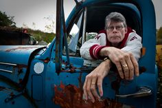 SEPTEMBER 21 Maine writer Stephen King born on this day in 1947. 'The thing under my bed waiting to grab my ankle isn't real. I know that, and I also know that if I'm careful to keep my foot under the covers, it will never be able to grab my ankle' (Night Shift)