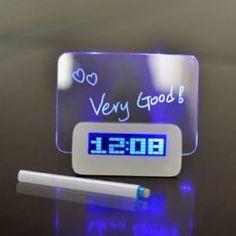LED üzenőfalas ébresztőóra