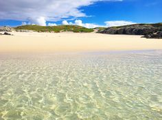 Hidden Beach on the Isle of Vatersay, Scotland.