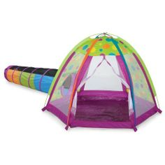 Pacific Play Tents Fun Zone Tent u0026 I See You 6 ft. Tunnel Combo by  sc 1 st  Pinterest & Find Me Tunnel by Pacific Play Tents | eBeanstalk | Tents | Pinterest
