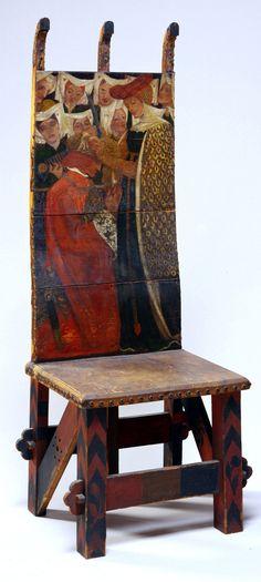 William Morris and Dante Gabriel Rossetti, The Arming of Knight, c. 1856-57