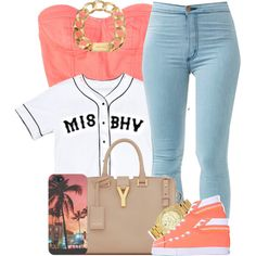 Misbehave. by livelifefreelyy on Polyvore featuring Bikkembergs, Yves Saint Laurent and Michael Kors