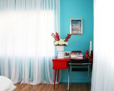 Blue And Red Design, Pictures, Remodel, Decor and Ideas