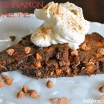 Spicy Cinnamon Fudge Brownie Pie