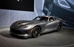 2014 Srt Viper Anodized Carbon Time Attack Front Three Quarters
