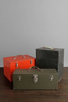 Vintage tool boxes! #fathersday #paypalit
