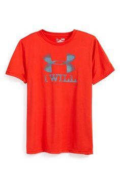 Boy's Under Armour 'Contender' HeatGear T-Shirt