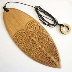 New Zealand Purerehua (also meaning butterfly) - Traditional Maori Wind Instrument