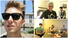 A Visit To The Doctors  Hanging With YouTubers | Vidcon Day 1d Hannah Hart, Marcus Butler, British Youtubers, Ricky Dillon, Joey Graceffa, Connor Franta, Tyler Oakley, Zoella, 22 Years Old