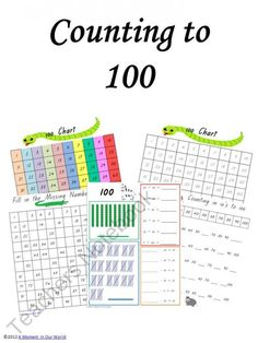 Counting to 100 product from A-Moment-In-Our-World on TeachersNotebook.com