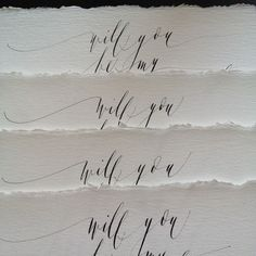 Hand Penned & Raw Edges / by Post Calligraphy / Wedding Style Inspiration (instagram: the_lane)