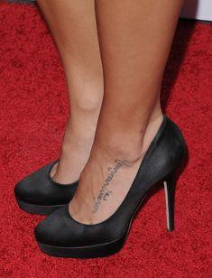 Jenna Dewan-Tatum (Tattoo)- I'd do it for him too..but across my heart...take that Jenna!