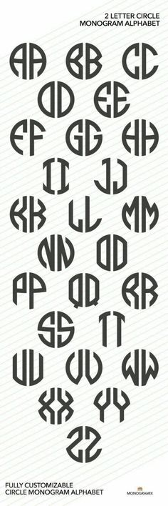 """Letter """"Interested in a Font Alphabet and Fonts? Р Письмо «Интересуют Шрифт алфавит и Шрифты? … Letter """"Interested in a Font Alphabet and Fonts? We have selected 18 ideas for you Circle Monogram, Monogram Fonts, Monogram Initials, Monogram Letters, Free Monogram, Monogramm Alphabet, Schrift Design, Art Graphique, Tattoo Fonts"""